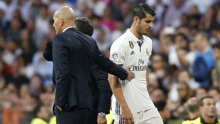 Wahanaprediksi.com - Pelatih Real Madrid Zinedine Zidane buka suara tentang kepergian Alvaro Morata. Zidane hanya bisa mendoakan supaya Morata terus meraih sukses di klub barunya.