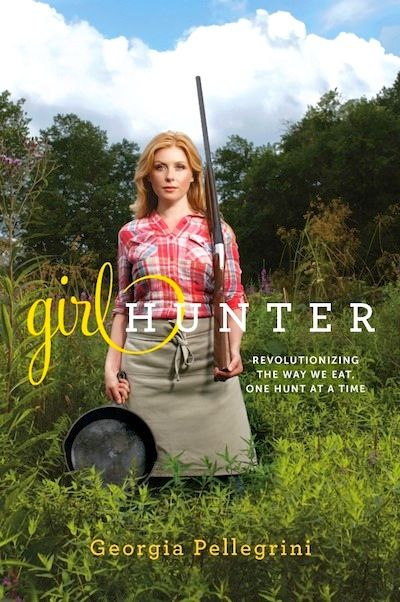 A great read for adventurous women, or ladies who like to live vicariously though others. Girl Hunter - Georgia Pellegrini  http://www.theculinarylife.com/2013/girl-hunter-georgia-pellegrini/