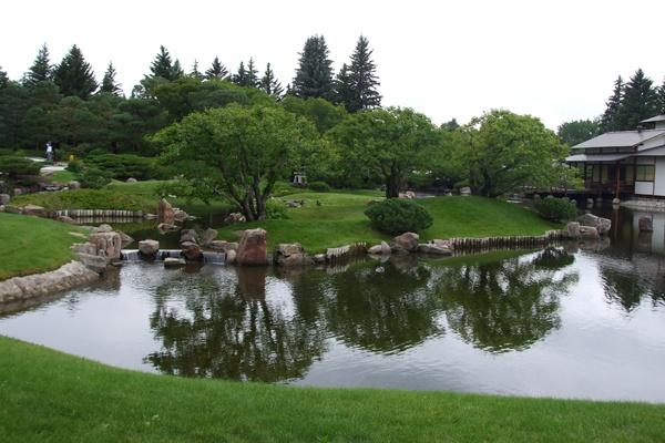 Japanese gardens, Henderson Park, Lethbridge