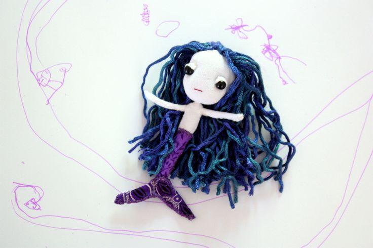Another Sneak Peek: new pocket friend mermaid by Lunate and the Mermaid #LunateAndTheMermaid