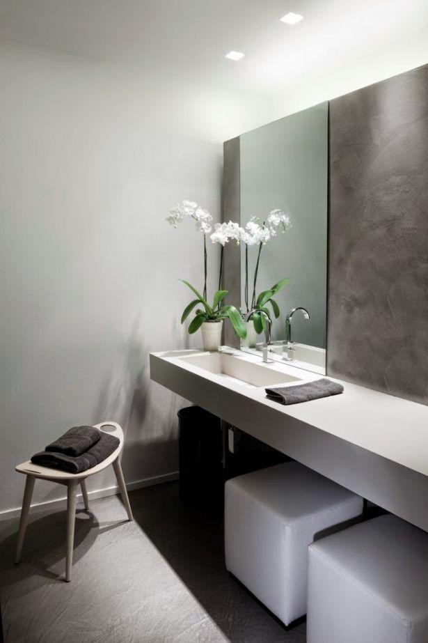 27 baños minimalistas en fotos, cuando menos es más