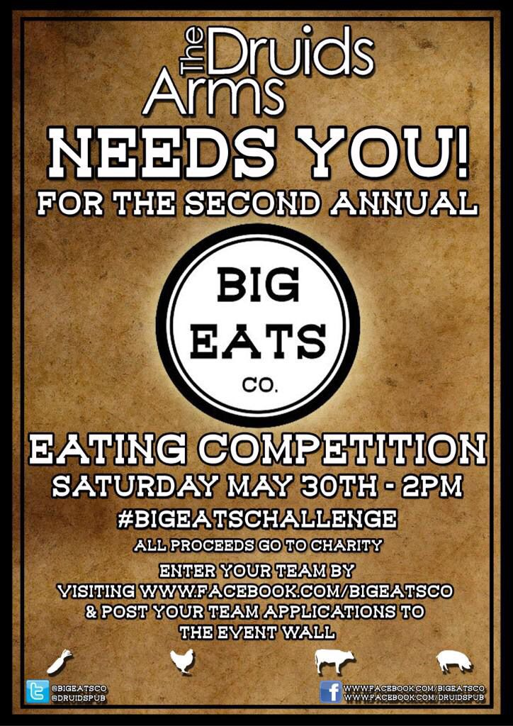 Brighton Event Eating Challenge for Charity
