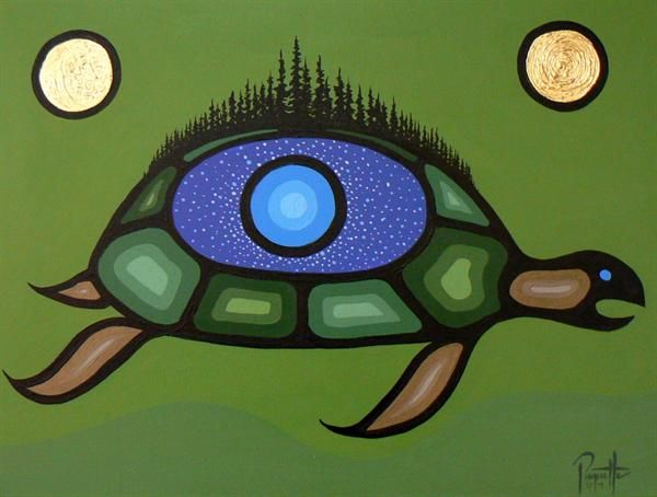 Turtle Island - Contemporary Canadian Native, Inuit & Aboriginal Art - Bearclaw Gallery