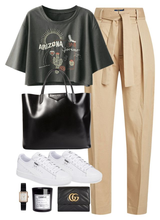 """""""Untitled #2122"""" by roxy-camarena on Polyvore featuring Polo Ralph Lauren, Givenchy, Gucci, H&M and Chanel"""
