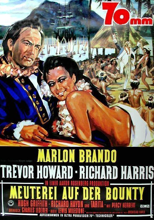 Marlon Brando Meuterei auf der Bounty Original Filmplakat Poster A1 gerollt in Filme & DVDs, Filmposter   eBay