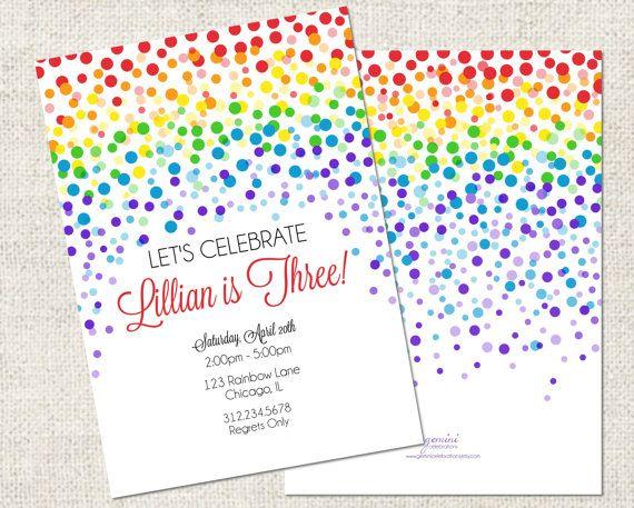 Birthday Invitations 3 Year Old