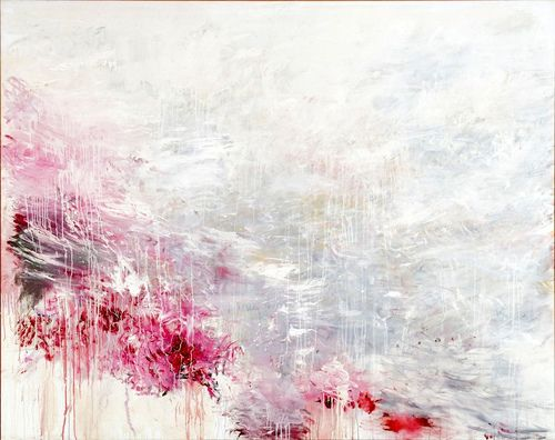 Hero and Leandro (To Christopher Marlowe) (1985) Cy Twombly (by BoFransson)