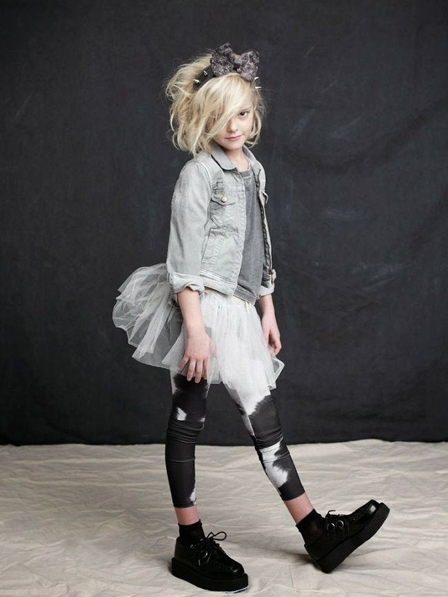 I feel the 80's... http://blog.estella-nyc.com/ #kids #fashion