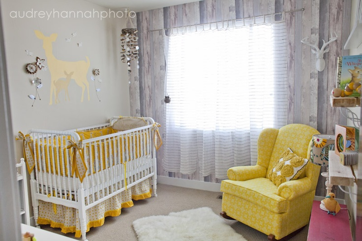 great nursery!  (I bet @Kristin Brink O'Callaghan would like it too.  Deer on wall?? :))Notsobabi Nursury, Tales Forests Nurseries, White Nurseries, Boys, Beautiful Nurseries, Colors Schemes, Baby Room, Not So Baby Nursury, Baby Machine