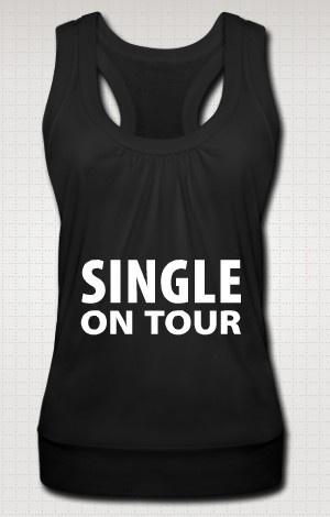 """Maglietta """"Single on tour"""""""