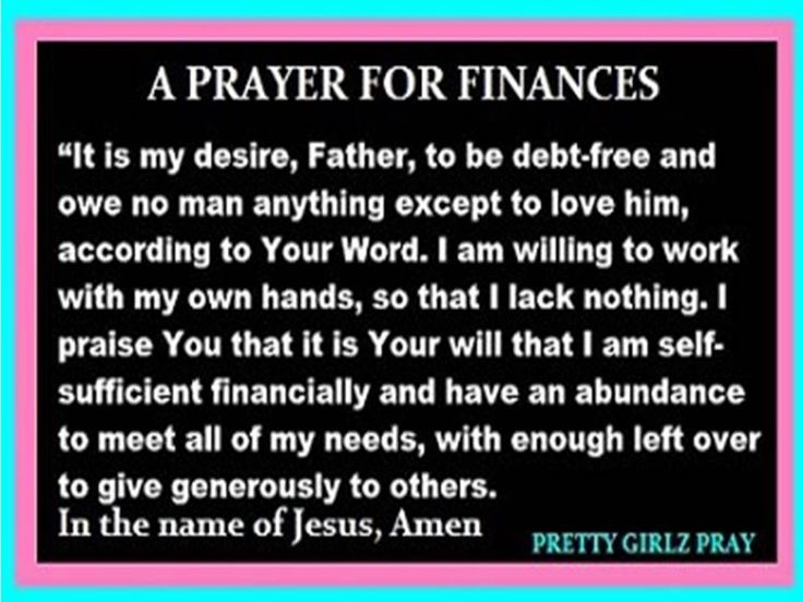 The Independent Woman Finance Prayer