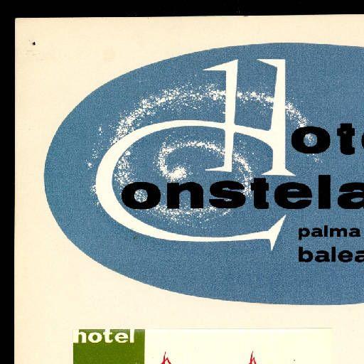 Bahía Palace, Cristina Hotel, Hotel Armadams, Hotel Constelación, Hotel Costa Azul, Hotel de la Amudaina, Hotel Jaime I, Hotel San Cayetano, Hotel Marisol :: Etiquetes d'hotels (Biblioteca de Catalunya)