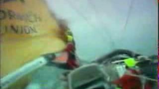 Rough Weather Sailing - BT Global Challenge 2000, via YouTube.