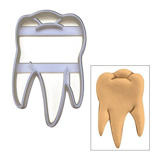 Realistic Molar Tooth cookie cutter, 1 pc, Ideal for Dental themed party or as gifts for Dentists