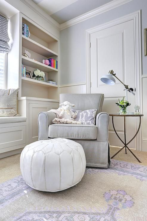 25 best ideas about gray nursery glider on pinterest for Sherwin williams lavender gray
