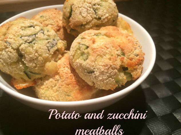 These potato and zucchini meatballs are light, good and tasty!  You can cook them in the oven or fry them in a pan!  Guaranteed results!