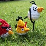 Angry Birds Amigurumi - FREE Crochet Pattern / Tutorial