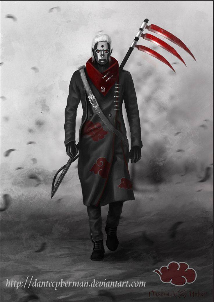 Hidan++warrior+organization+Akatsuki+(redesign)+by+DanteCyberMan.deviantart.com+on+@deviantART