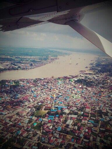 Sungai Mahakam   Samarinda   East Borneo   Indonesia