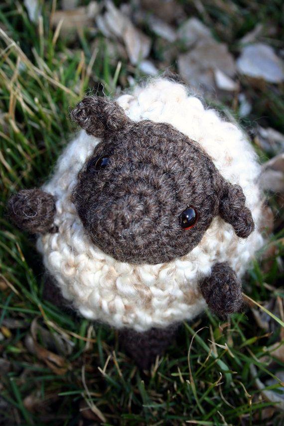 Sheila  Digital Crochet Pattern  Amigurumi Sheep