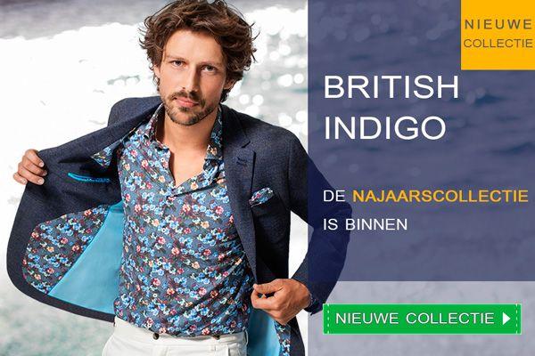 De verrassende #Najaarscollectie van British Indigo is binnen!  Ga nu naar https://www.shirtsupplier.nl/nl/nieuw-merk/british-indigo #BritishIndigo #bloemenprints