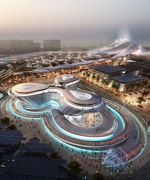 BIG, foster + partners and grimshaw reveal pavilion designs for dubai expo 2020