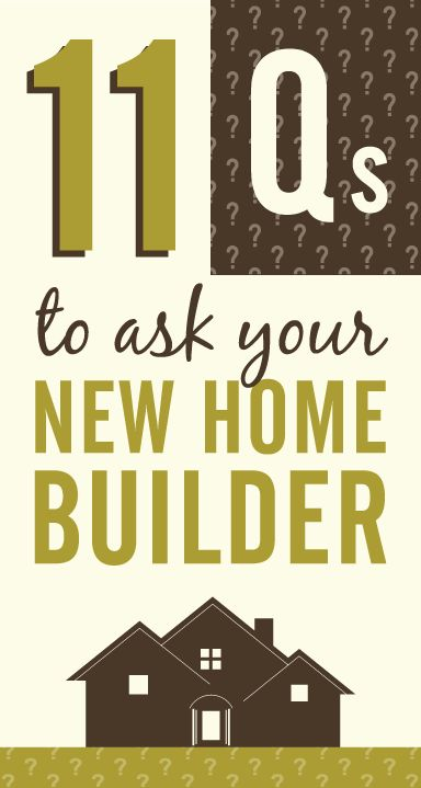 52 best first time homebuyer help images on pinterest for Good questions to ask a home builder