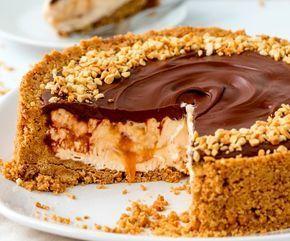 Το cheesecake με nutella κι αλατισμένη καραμέλα θα σας συνεπάρει με τη γεύση του !! Εκτέλεση Παίρνετε μια στρογγυλή φόρμα με αποσπώμενη βάση την οποία στρώνετε με λαδόκολλα κομμένη στο σχήμα της. Ανακατεύετε μαζί τα τριμμένα μπισκότα και το λιωμένο βούτυρο σε ένα μεγάλο μπολ. Τοποθετείτε το …