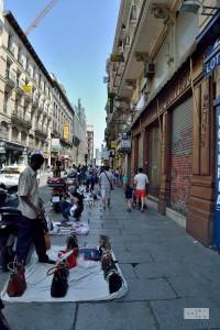 People in Madrid