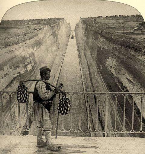 Greece, Isthmos Canal...long time ago!