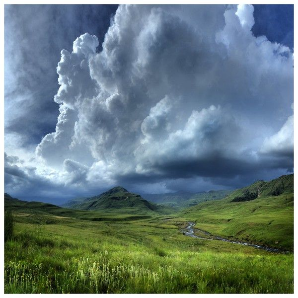 Moody clouds over the Southern Drakensberg http://www.n3gateway.com/the-n3-gateway-route/southern-drakensberg-community-tourism-organisation-sdcto.htm