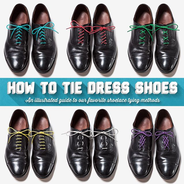 How To Tie Dress Shoes So Laces Don
