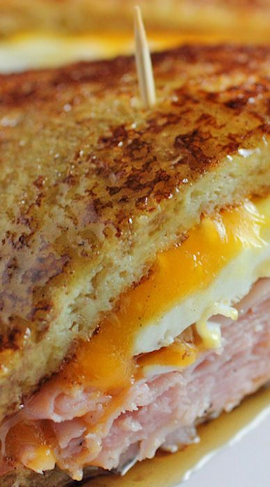 French Toast Grilled Cheese Sandwich