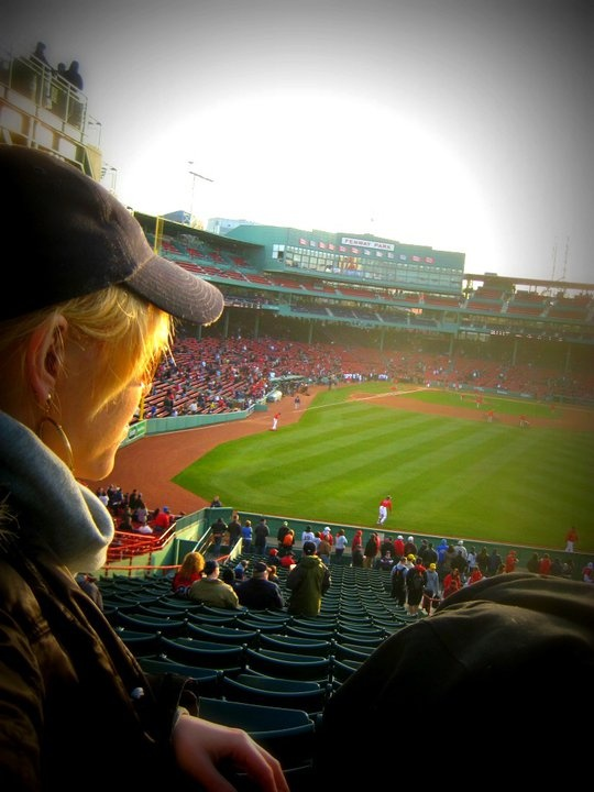 soaking it in at America's most beloved ball park, Fenway <3 Boston Red Sox *: Favorite Places, Ball Parks, Boston Sports, Beloved Ball, Sox Games, Red Sox Boston, Sox Cap, Fenway Ball, Boston Red Sox