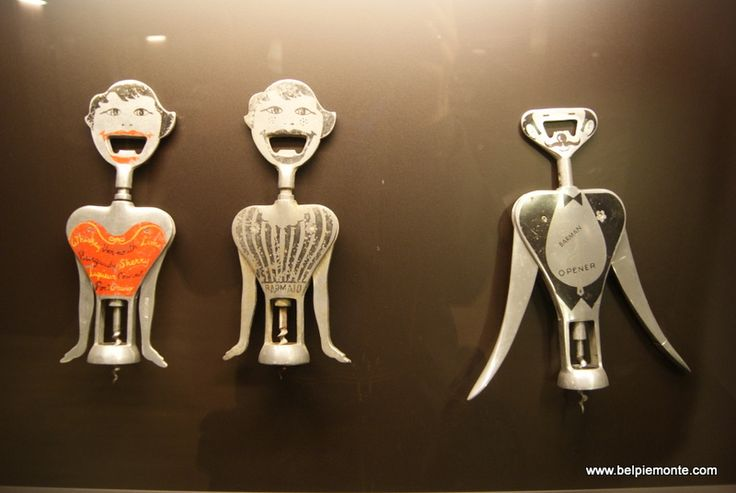 Museum of Corkscrews in Barolo, Piedmont, Italy