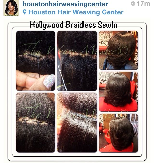 how to put weave in without glue or sew in