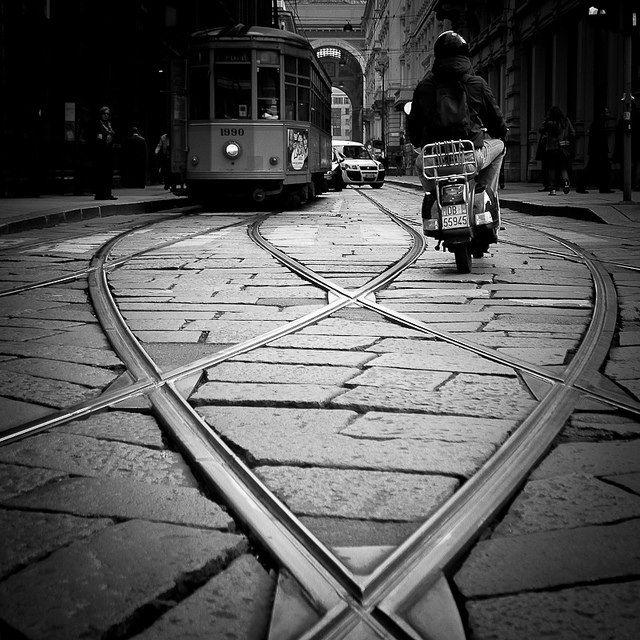 Vespa & Torino, Turin, , province of Turino , Piemonte region Italy