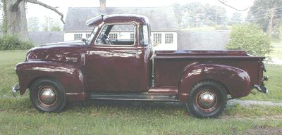 1950 chevy pick up truck