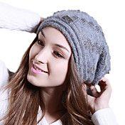 Deniso-1164 kvinner vinter mote Ull Hat – NOK kr. 356