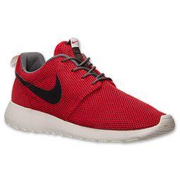 Men's Nike Roshe Run Casual Shoes | FinishLine.com | University Red/Velvet  Brown