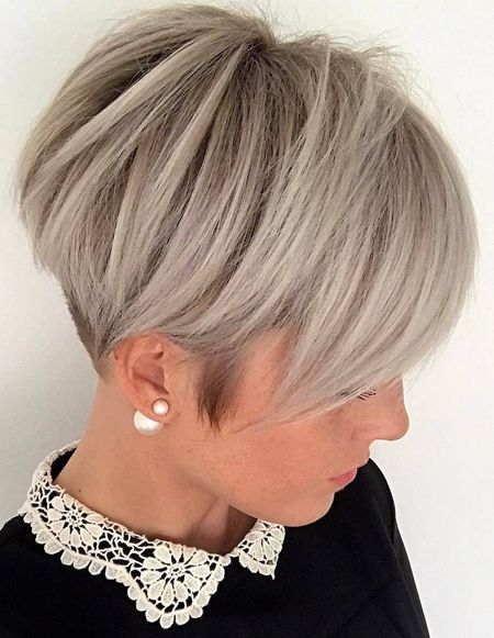 Chic Short Hairstyles for Women Above 20 | pixie cuts ...