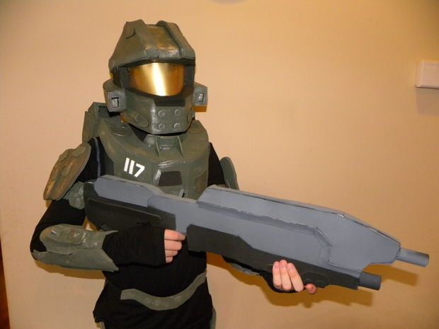 Picture of How to Make a Halo 4 Master Chief Costume