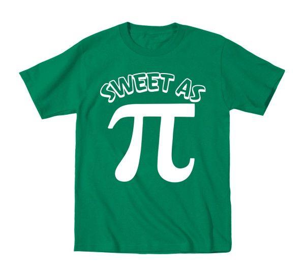 Sweet As Pi Toddler T-Shirt