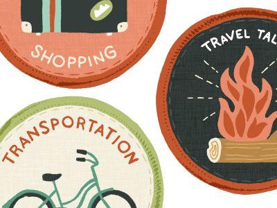creative achievement badges