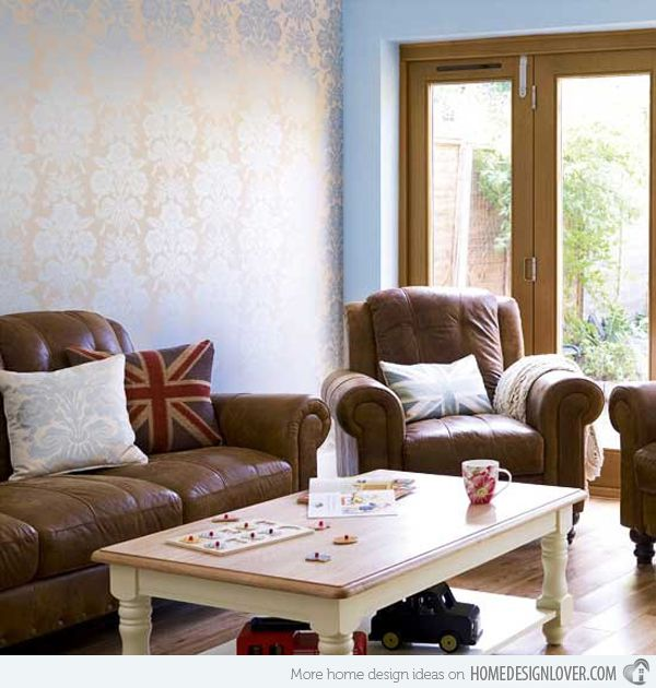 15 Relaxing Brown And Tan Living Room Designs Part 81
