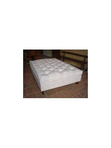 Matelas latex naturel et garnissage laine