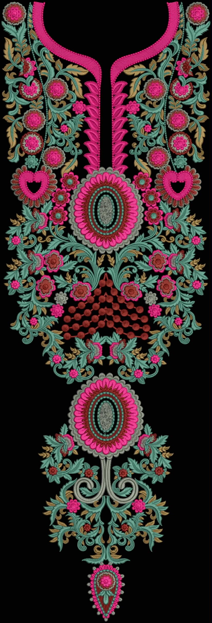 Latest Embroidery Designs For Sale, If U Want Embroidery Designs Plz Contact (Khalid Mahmood, +92-300-9406667)  www.embroiderydesignss.blogspot.com  Design# Ruksa4
