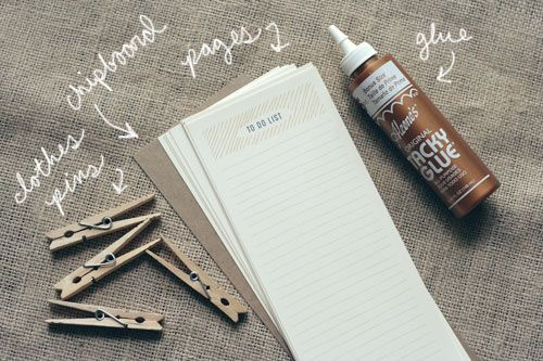 "DIY ""To Do List"" Notepad - Whit & Whistle"