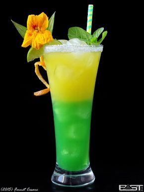 Sex Mission Jul 19, 2015 Vodka Curacao blue Green apple liqueur Lime juice Pineapple juice Mineral water (non-carbonated) Grenadine Ice Put ice in a glass and pour blue curacao. Separately mix lime...