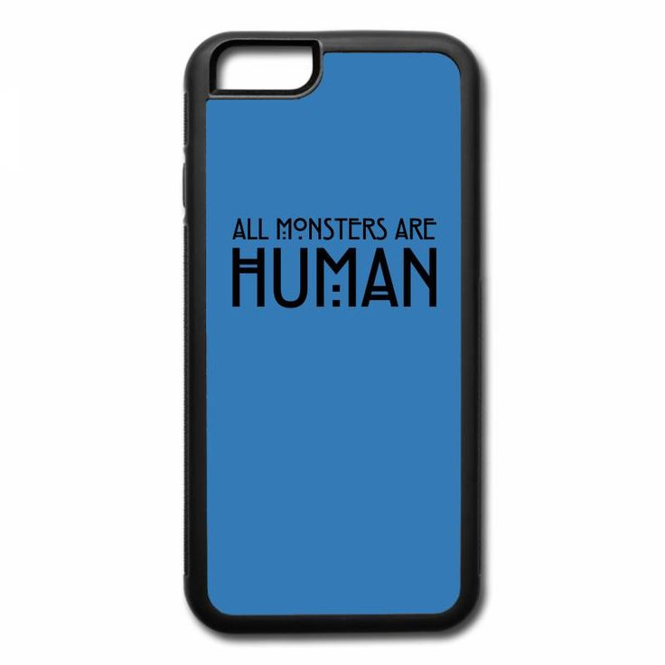 all monsters are human iPhone 7 Plus Case